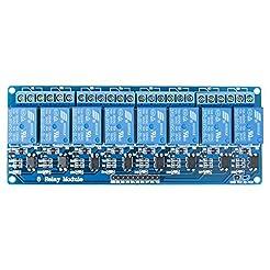 ELEGOO 8 Channel DC 5V Relay Module with...
