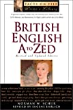British English A to Zed, Norman W. Schur, 081604239X