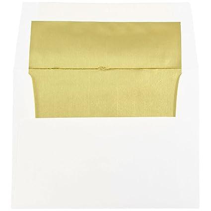 amazon com jam paper a2 foil invitation envelopes 4 3 8 x 5 3 4