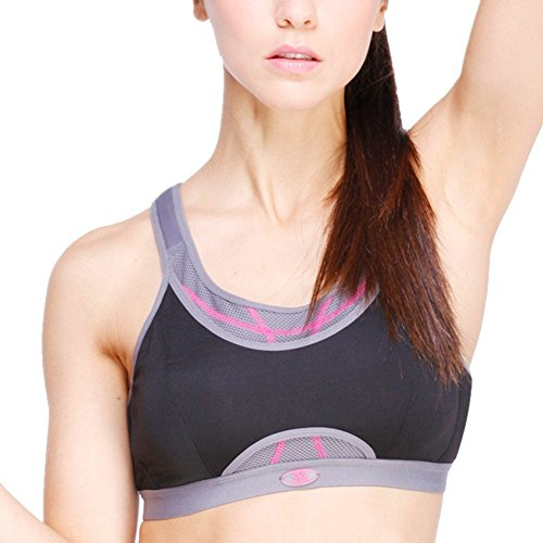 New ProductWomen High Support Wireless Handful Yoga Sports Bra #6066 by Generic
