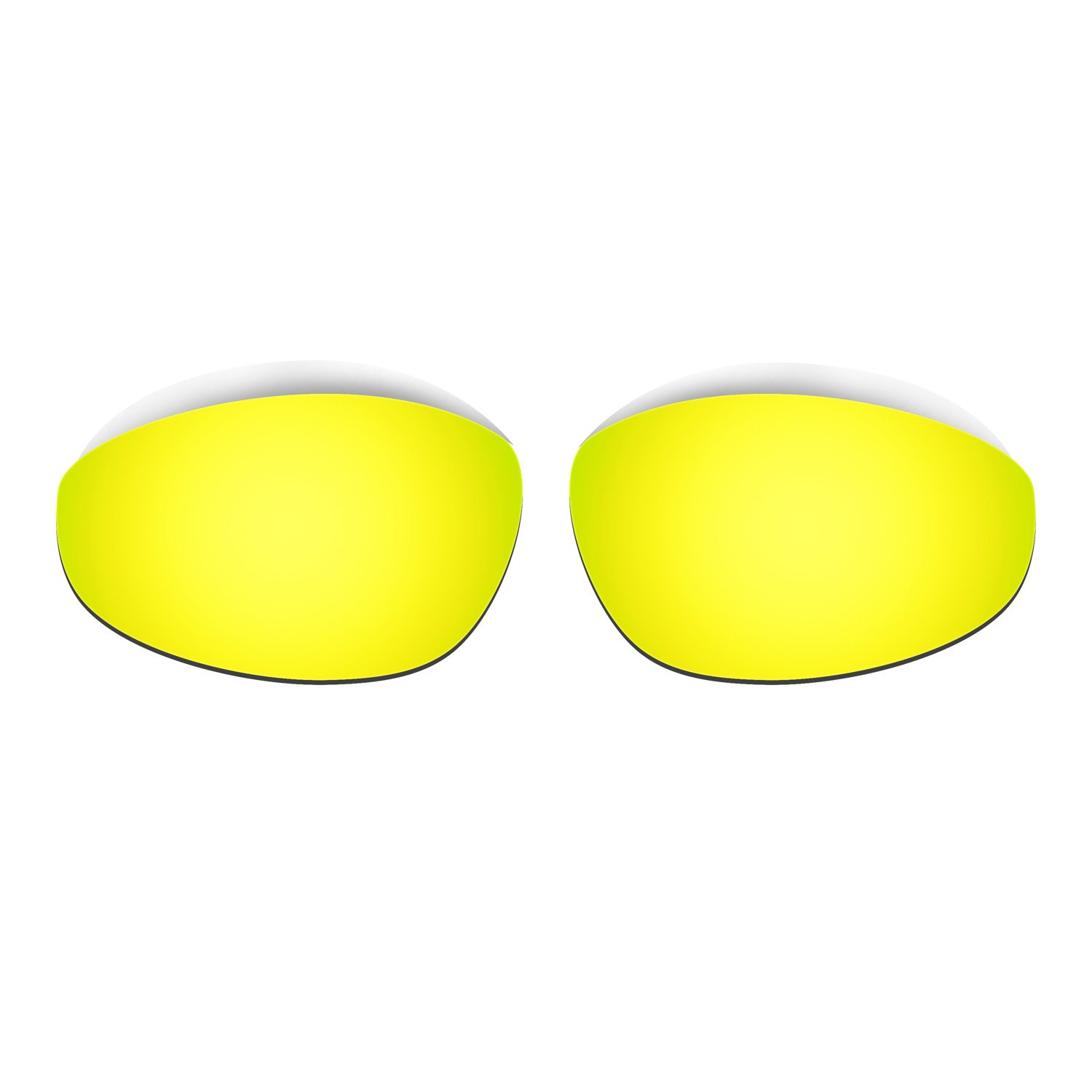 b6bf5ea83f Amazon.com  Hkuco Mens Replacement Lenses For Oakley Straight Jacket (1999)  Sunglasses 24K Gold Polarized  Clothing