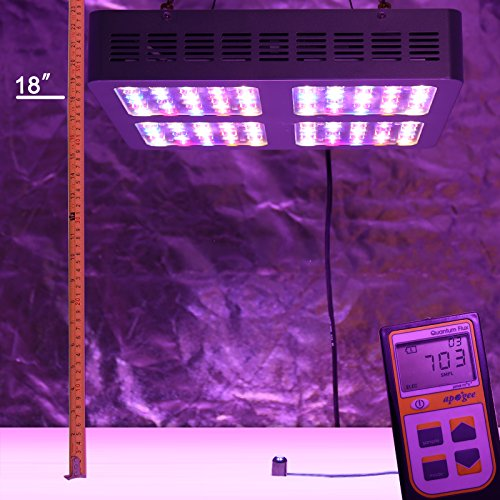 VIPARSPECTRA Reflector-Series V600 600W LED Grow Light Full Spectrum for Indoor Plants...