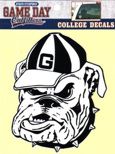 NCAA Georgia Bulldogs Window Decal/Stickers ()