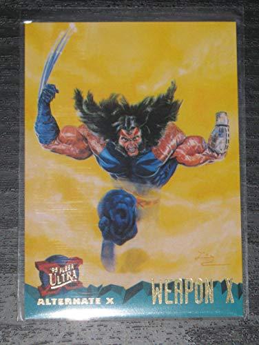 (1995 Fleer Ultra X-Men Weapon X Unnumbered Promo Card NM/M)