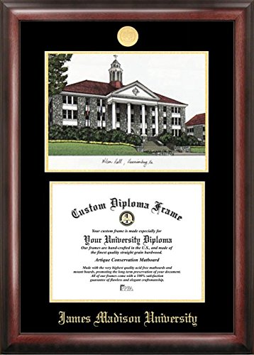 Campus Images James Madison University Embossed Diploma Frame with, 12