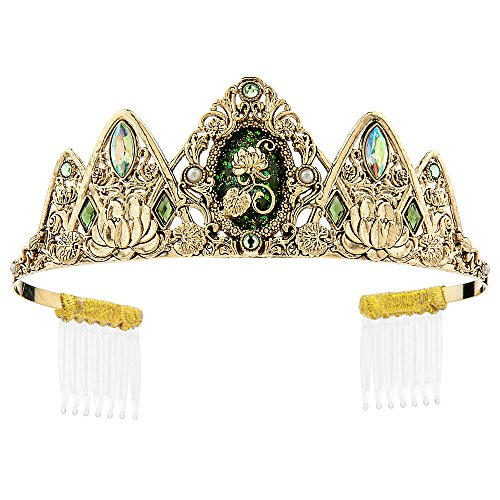 Tiana Princess Costume For Adults (Disney Tiana Tiara for Kids)