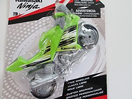 Amazon.com: MOTO SPEED KAWASAKI NINJA MOTORCYCLE - GREEN ...