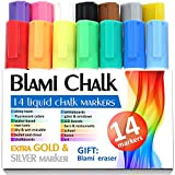 Chalk Markers with extra gold and silver ink - Best Reviews Guide