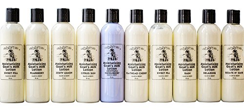 Inspiration Jasmine Body Lotion - Windrift Hill Moisturizing Goat's Milk Lotion (Mother Earth New)