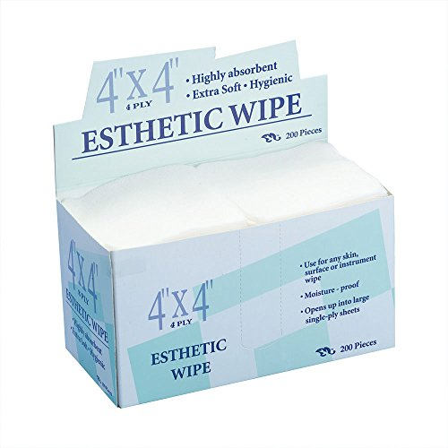 Appearus Professional 4x4 Non-Woven Esthetic Wipes (200 Ct.)
