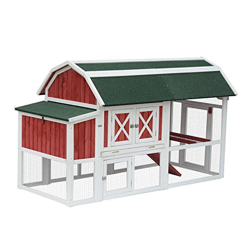 large chicken coop for 6 chickens - 9