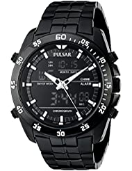 Pulsar Mens PW6011 Stainless Steel Watch