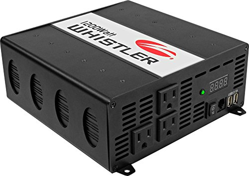 Whistler XP1200i Power Inverter: 1200 Watt Continuous/2400 Watt Peak Power