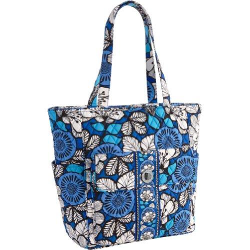 Vera Bradley Tablet Tote (Blue Bayou), Bags Central