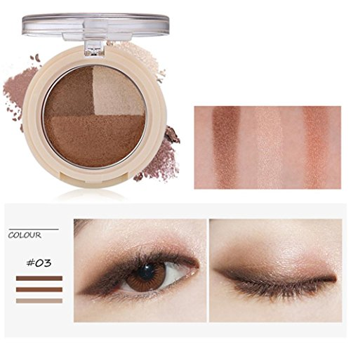 Top Alonea Shimmer Matte Eyeshadow, Makeup Neutral Nudes Warm Eyeshadow Palette (#02