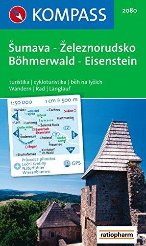 Böhmerwald, Eisenstein/Sumava-Zeleznorudsko: 1 : 50 000. GPS-genau. Mit Naturführer Wiesenblumen