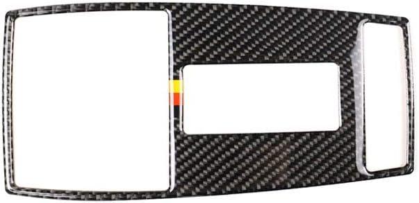 Carbon Fiber Interior Decoration Decal Frame Cover Trim For Mercedes-Benz C-Class W204 2010-2013 Dashboard Armrest Gear Shif Panel Trim LHD, Classic