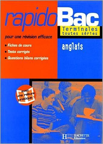Amazon Fr Rapidobac Anglais Terminale Es L S Marie