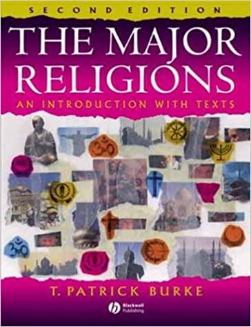 Book The Major Religions: An Introduction with Texts