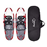 """Gpeng 14""""/21""""/25""""/27""""/30"""" Snowshoes Snow Shoes for Men Women Youth Kids,Lightweight Aluminum Alloy Snowshoes + Free Carrying Tote Bag"""