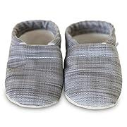 Clamfeet Organic Baby Shoes Organic Vegan Baby Shoes (2 | 6-12 Month, Landon)