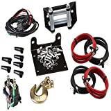 MotoAlliance VIPER Midnight ATV/UTV Winch 3000lb