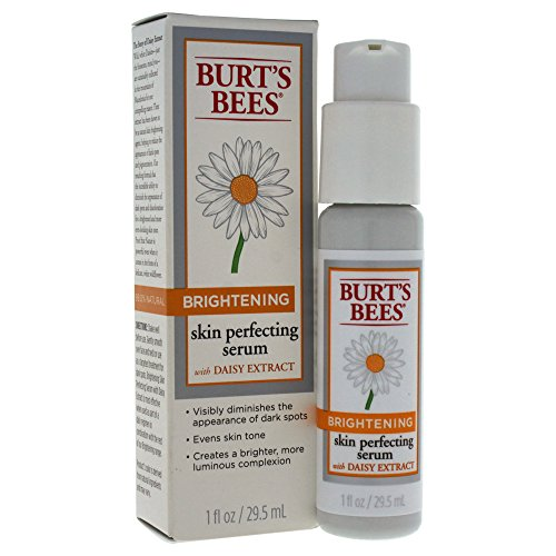 Burts Bees Brightening Skin Perfecting Serum, 1 oz 2 Pack Clean & Clear, Persa-Gel 10 Acne Medication Treatments, Maximum Strength 0.1 oz Each