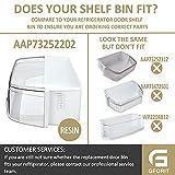 AAP73252202 Refrigerator Door Bin Replacement, 2