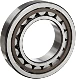 SKF Cylindrical Roller Bearing, Removable Inner Ring, Flanged, High Capacity, Polyamide/Nylon Cage, Metric