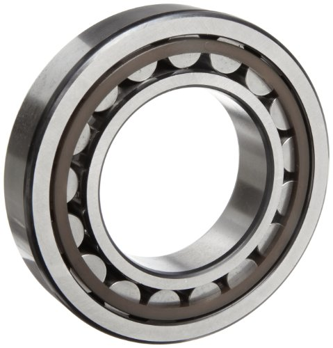 - SKF NJ 207 ECP Cylindrical Roller Bearing, Removable Inner Ring, Flanged, High Capacity, Polyamide/Nylon Cage, Metric, 35mm Bore, 72mm OD, 17mm Width, 10000rpm Maximum Rotational Speed, 10800lbf Static Load Capacity, 10900lbf Dynamic Load Capacity
