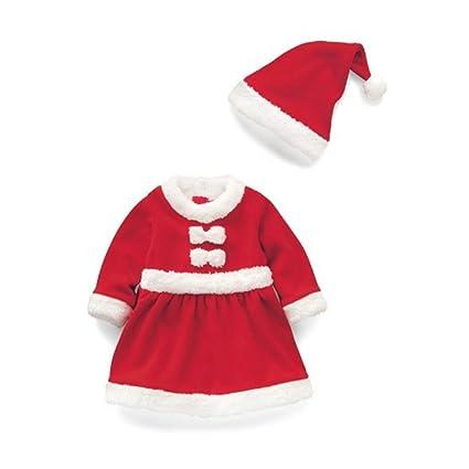 Bebé del Niño Traje de Disfraz Baby Boy/niña de Papá Noel ...