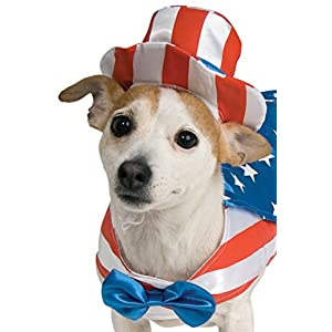 Rubie's Uncle Sam Pet Costume, Small