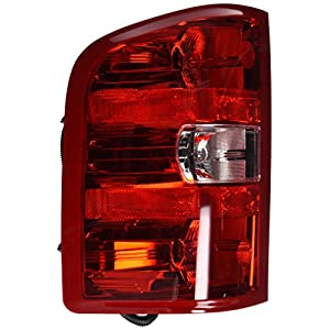 TYC 11-6222-00-1 Chevrolet Left Replacement Tail Lamp