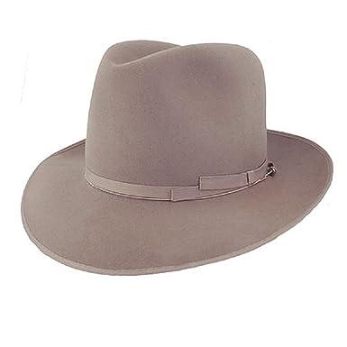 5a67175b55c Amazon.com  Borsalino Alessandria Fur Felt Hat  Clothing