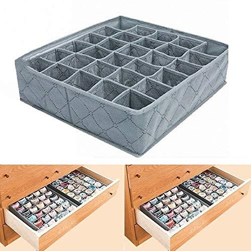 divisorio reggiseni cassetto JklausTap armadio Organizzatore per biancheria intima amboo organizer per reggiseni calze organizer pieghevole per biancheria intima biancheria intima cassetti