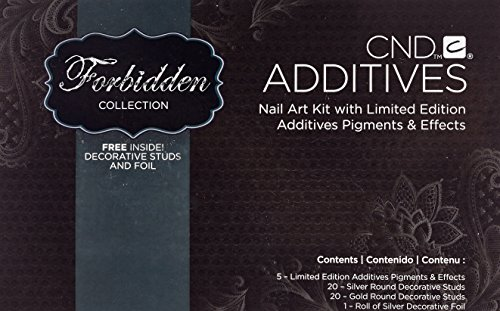 CND Creative Nail Design Additives Pigment Effect Powder 0.19oz 5.65g (Deep Blue)
