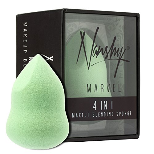 Nanshy MARVEL 4 in 1 Make-up Schwamm Kosmetikschwamm Beauty Sponge Blender Schwämmchen Original Vegane Kosmetik