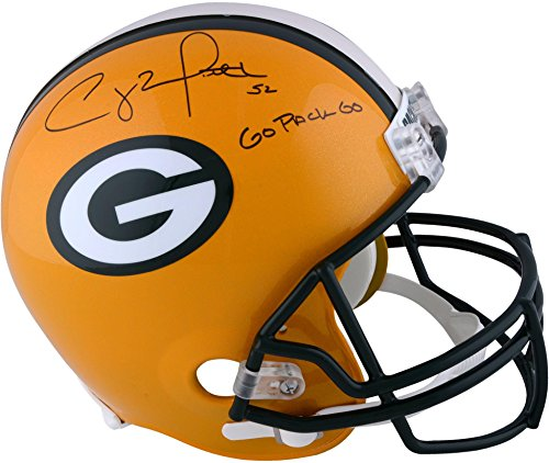 Clay Matthews Green Bay Packers Autographed Riddell Replica Helmet with