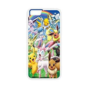 FOR Apple Iphone 6 Plus 5.5 inch screen Cases -(DXJ PHONE CASE)-Lovely Pikachu-PATTERN 10