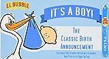 El Bubble It's A Boy Bubble Gum Cigars, Packages