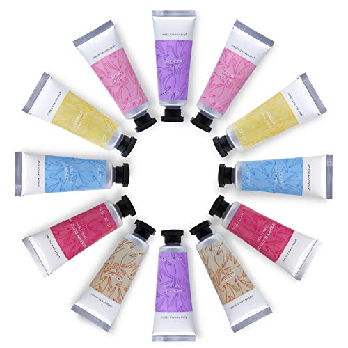 Green Canyon Spa Hand Cream Gift Set for Women Mothers Day Gift Sets 12pc Shea Butter Hand Lotion with Travel size Moisturizing and Fast-Absorbing