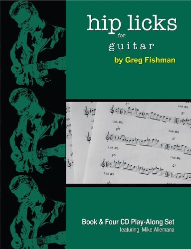 Hip Licks Guitar Greg Fishman product image