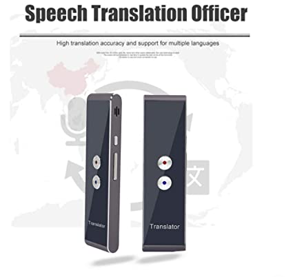 Amazon com: WANGYONGQI Smart Instant Voice Translator 40+ Languages