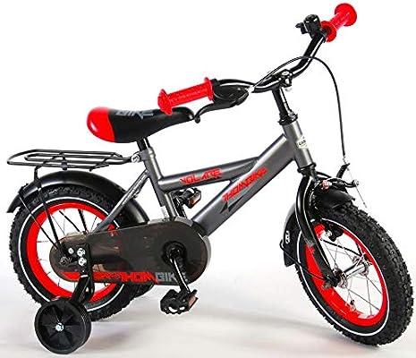 YIPEEH Bicicleta Infantil Chico Niño Thombike 12 Pulgadas con ...