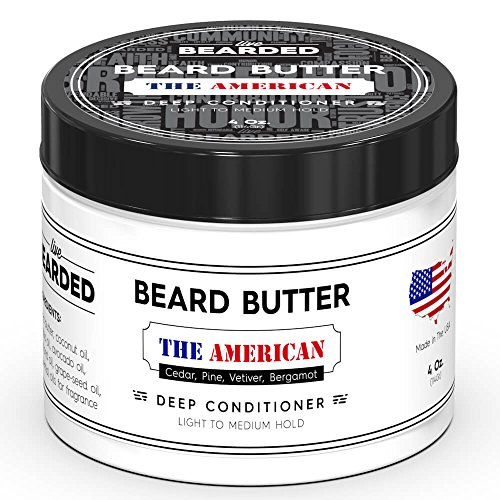 , Bergamont Beard Butter | Live Bearded Made in USA | The American All Natural Beard Butter ()