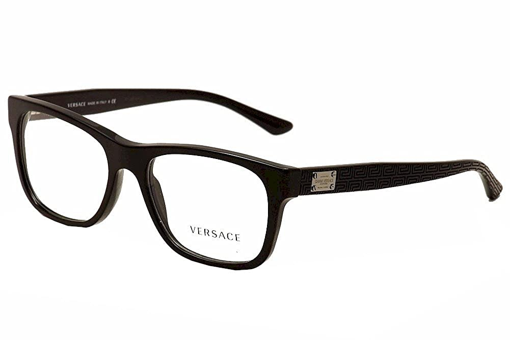 Versace VE3199 Eyeglass Frames GB1-53 - Black VE3199-GB1-53 0VE3199
