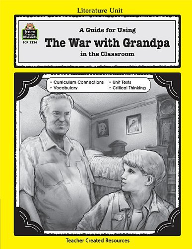 A Guide for Using The War with Grandpa in the Classroom (Literature Units) by Leiviska Karen (1999-06-01) Paperback