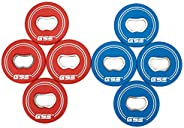 GSE Games & Sports Expert Set of 8 Replacement Washers with Bottle Opener for Washer Toss Pitching Lawn