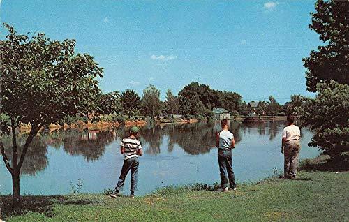 Frederick Maryland Culler Lake Fishing Vintage Postcard JC932082 (Lake Culler)