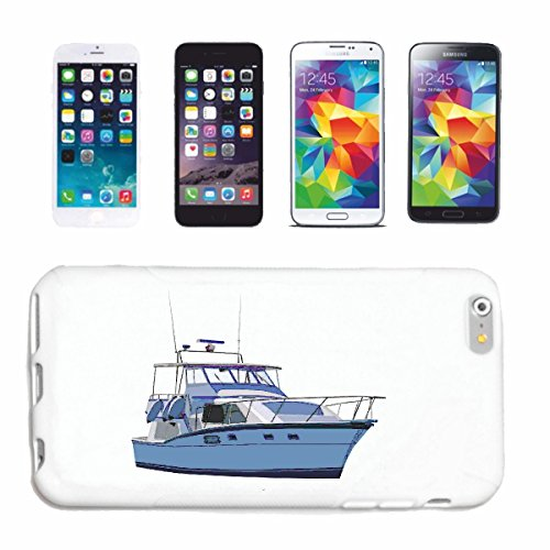 "cas de téléphone iPhone 7S ""YACHT DE LUXE CLUB ANCRE SKULL PIRATE VOILIER VOILIER DIRECTION SKULL PIRATE SAILING Collektion SKULL CANCER DE DIRECTION BUCCANEER Segelschiff"" Hard Case Cover Téléphone C"